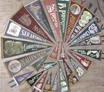 LOT#1051  25 -CIRCA 1940'S PENNANT COLLECTION